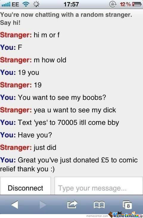 Oh, Omegle...