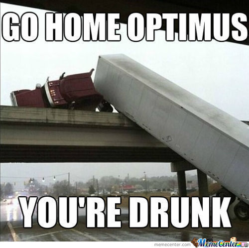 Oh, Optimus..