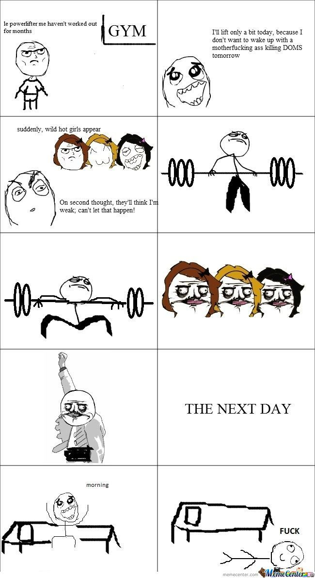 Oh, Powerlifters