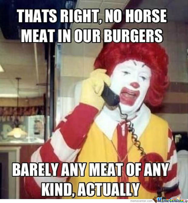 Oh Ronald You So Silly!