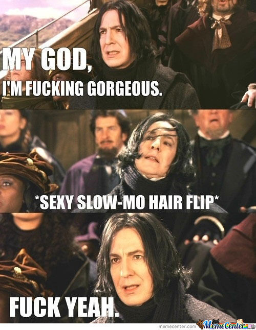 Oh, Snape