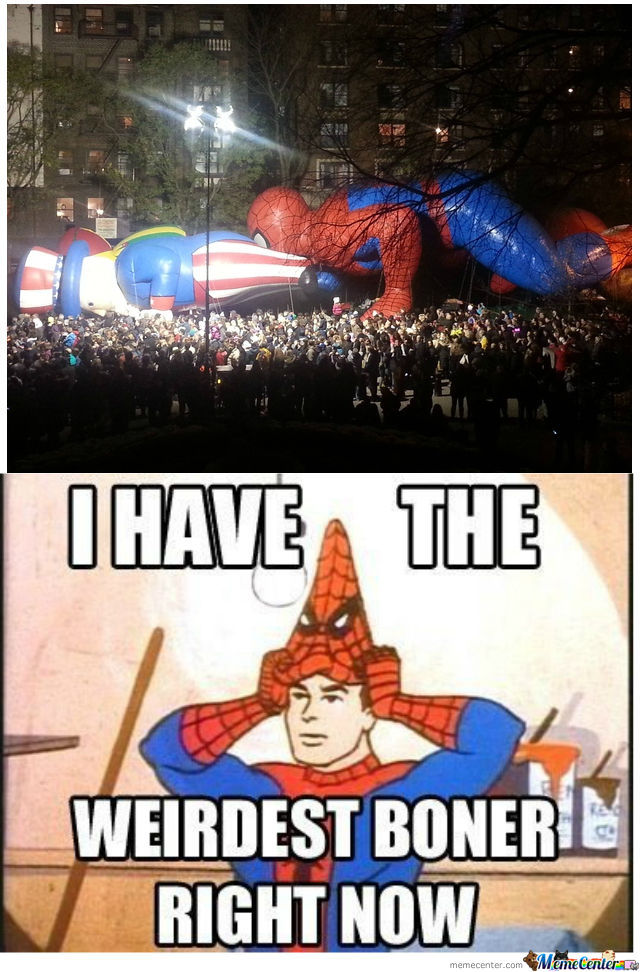 Oh Spidy You're At It Again