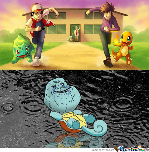 Oh, Squirtle!