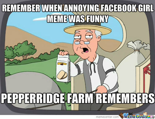 Oh The Old Memes