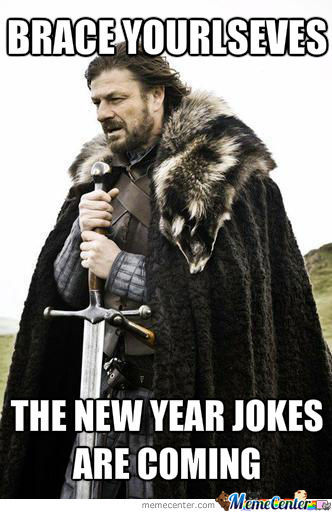 Oh Those New Year Jokes
