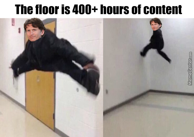 Oh Todd. Never Change.