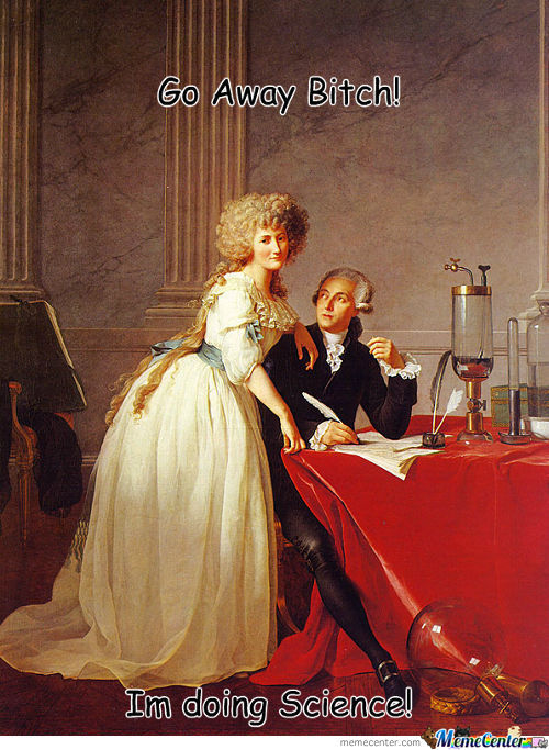 Oh' You Lavoisier