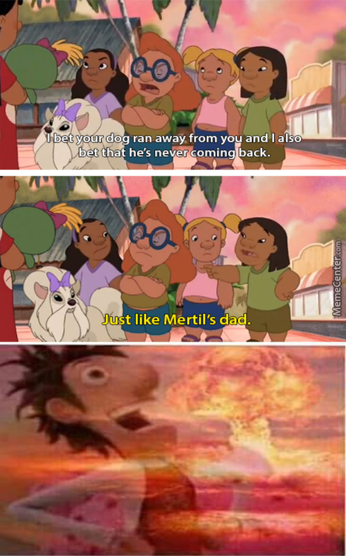 Ohana Means Family, And That Means You Got Burnt