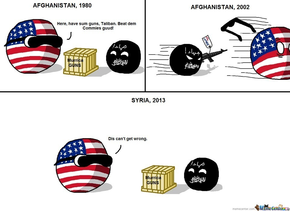 Ohh 'murica . . . Whenever I Read History, You're Always Give Me The Laughs
