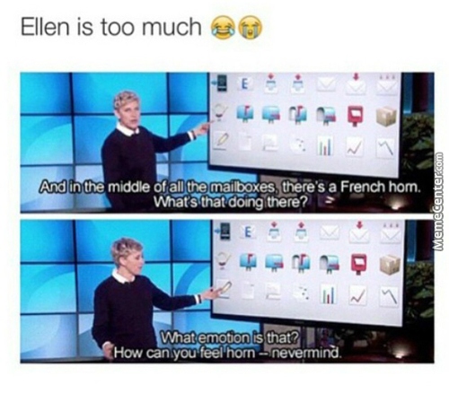 Ohhh Ellen, I Love This Show
