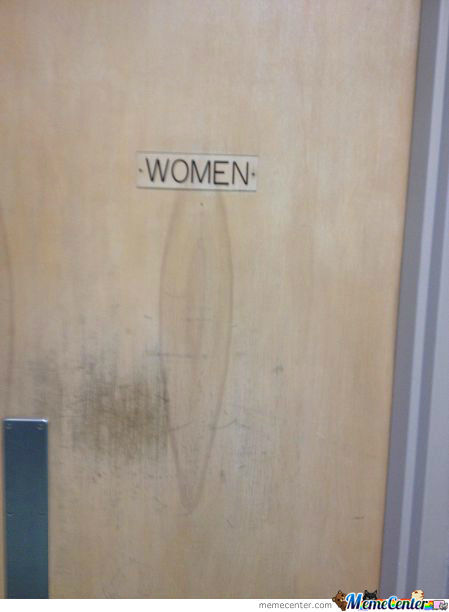 "Ohhhh I See, A ""women's"" Room"