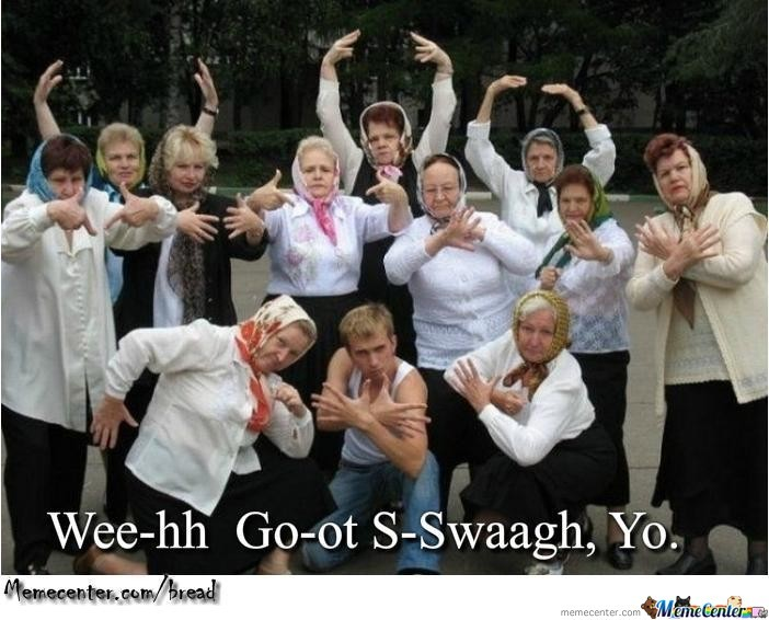 Old People Having Swag