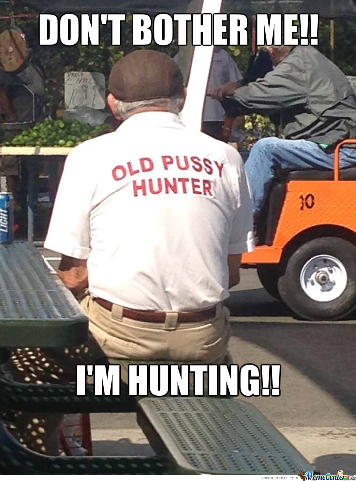 Old Pussy Hunter