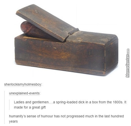 Old School Dick In A Box
