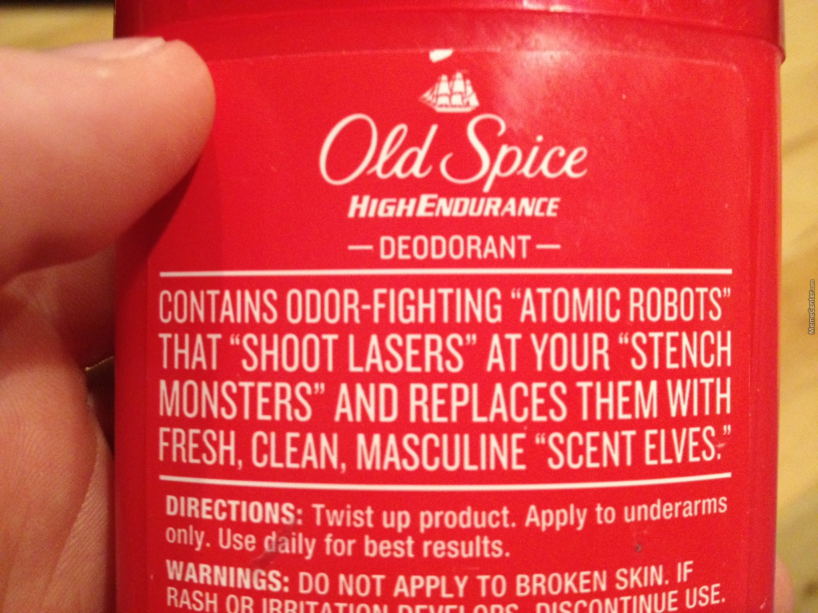 Old Spice Knows How It Is.