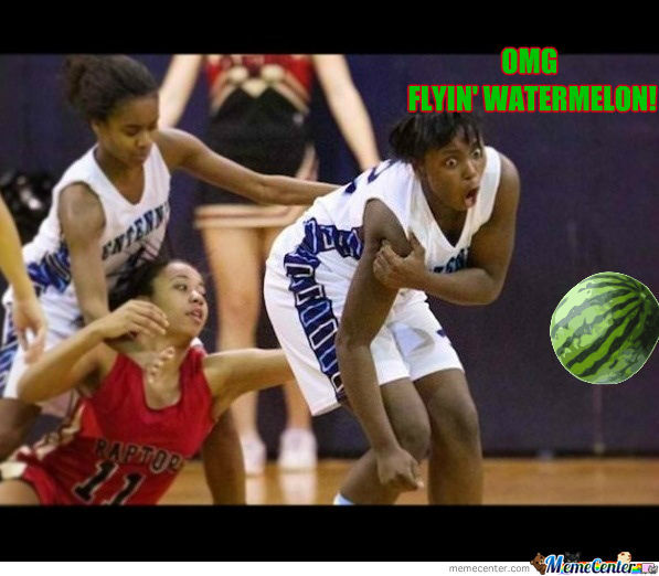 Omg Flyin' Watermelon!