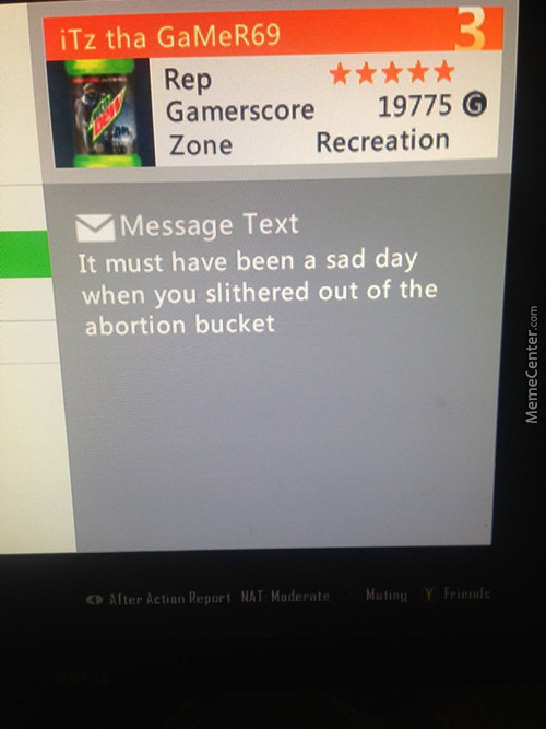 Omg...never Ever Change Xbox Live...