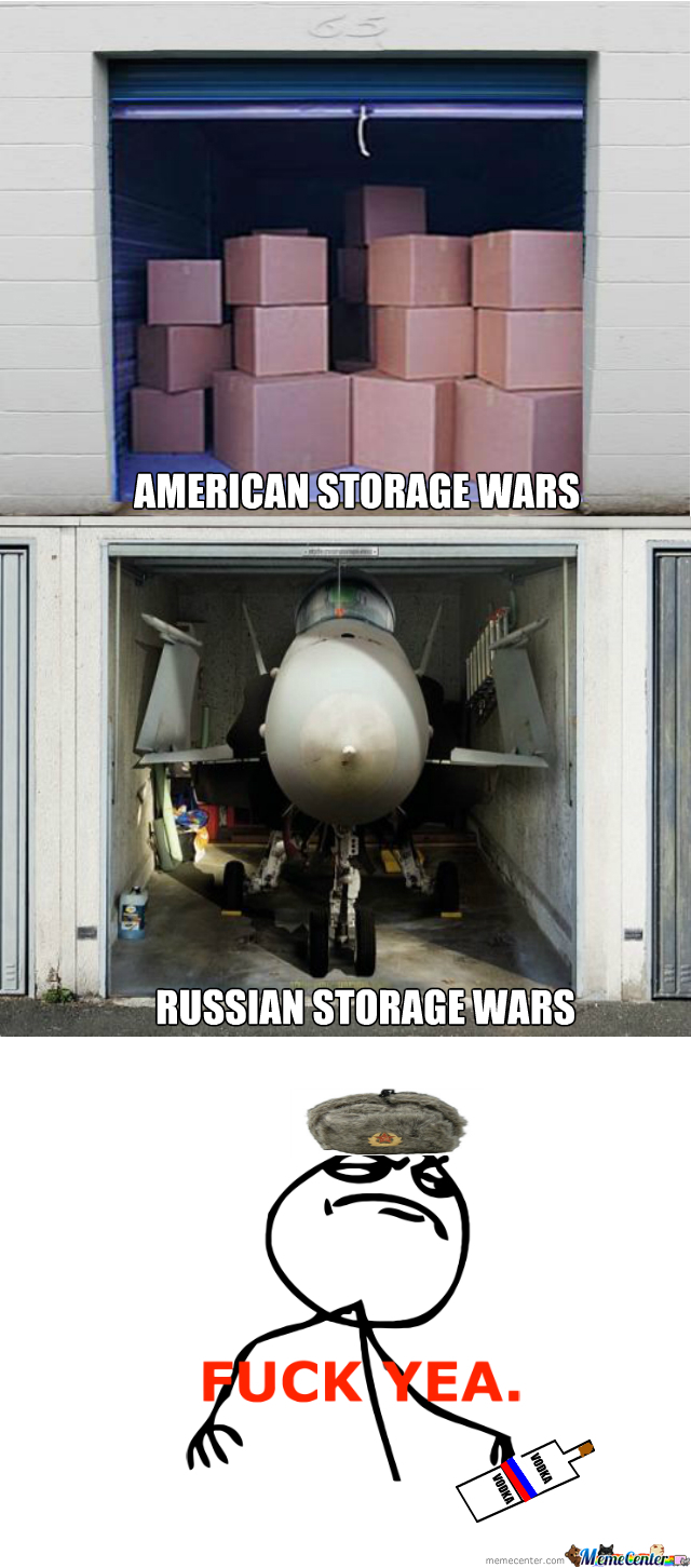 On Russian Storage Wars!