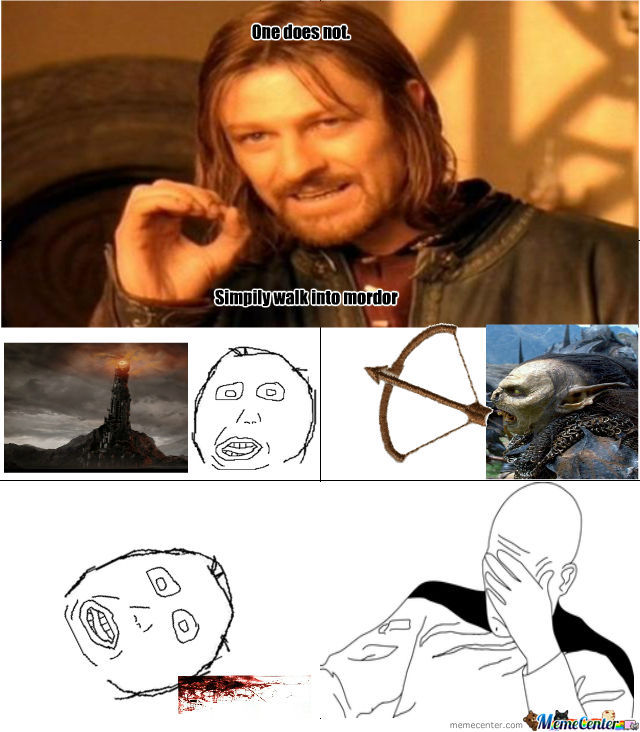 One Does Not Simpily