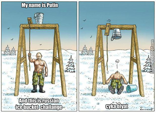 One Does Not Simply Davai Cyka Blyat Ice Bucket Challange