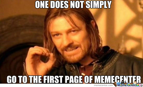 One Does Not Simply Find An Original Title
