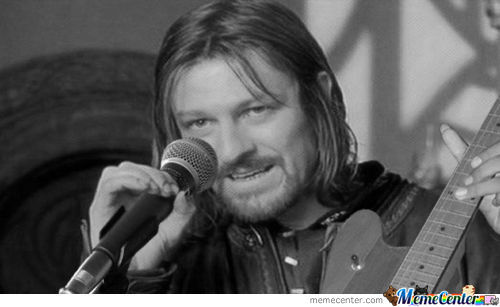 One Does Not Simply, Sing And Play Guitar At The Same Time