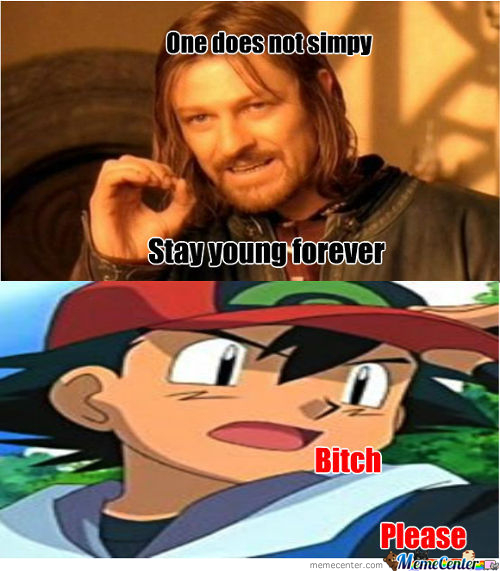 One Does Not Simply Stay Young