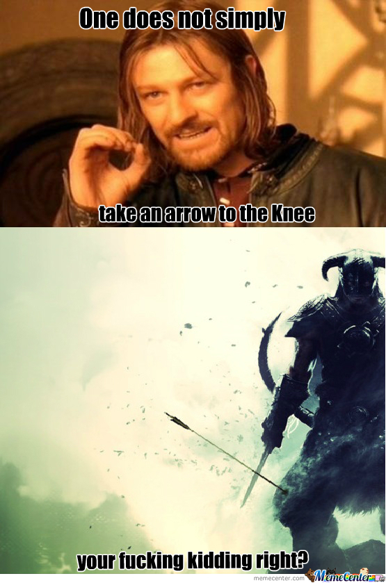 One Does Not Simply Take