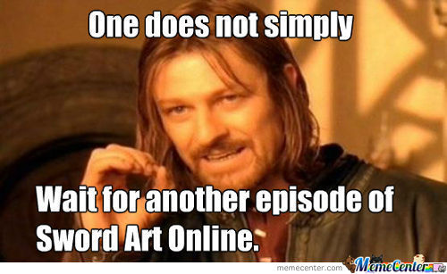 One Does Not Wait For Another Episode