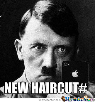 One Of Adolf's Famous Selfies