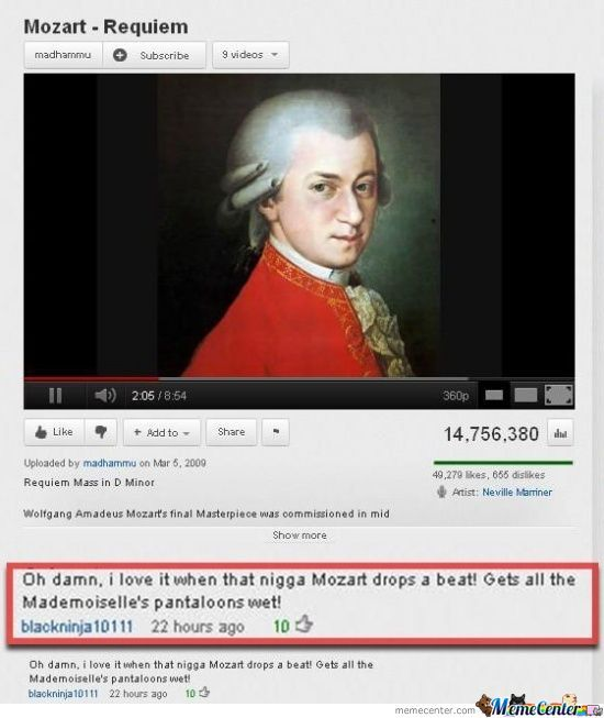 One Of The Best Youtube Comments Ever! By