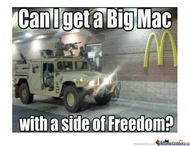 One Order Of Freedom, Please