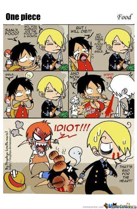 One Piece- Food