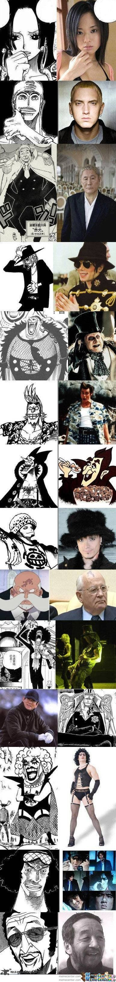 One Piece Character Inspiration