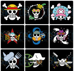 One Piece Pirate Flags by rikuo_meme - Meme Center