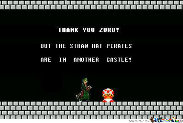 One Piece With Mario Logic