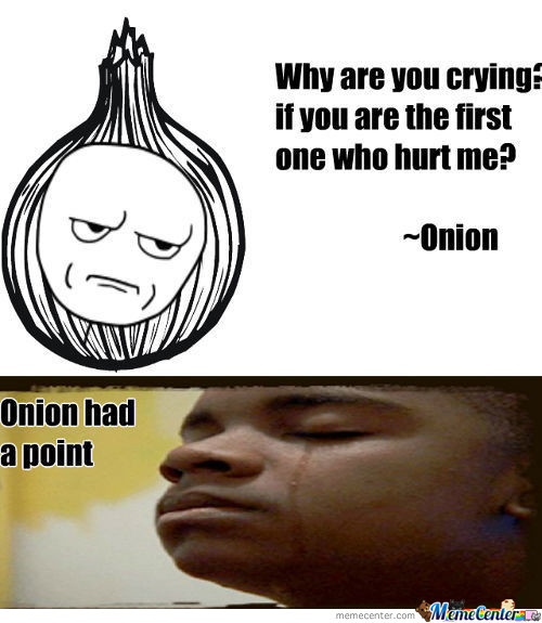 Onion Has A Point