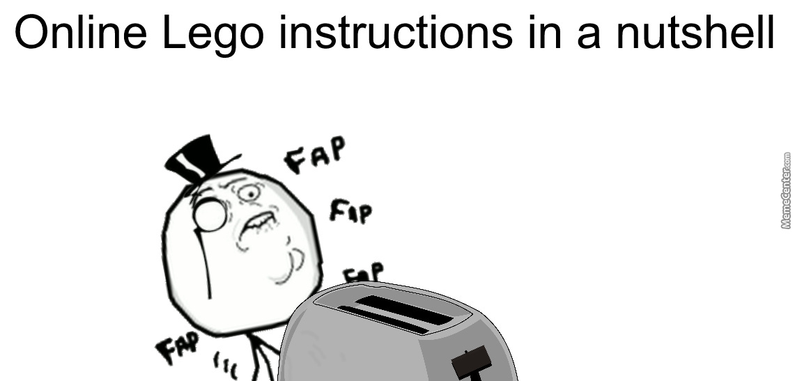 Online Lego Instructions By Recyclebin Meme Center