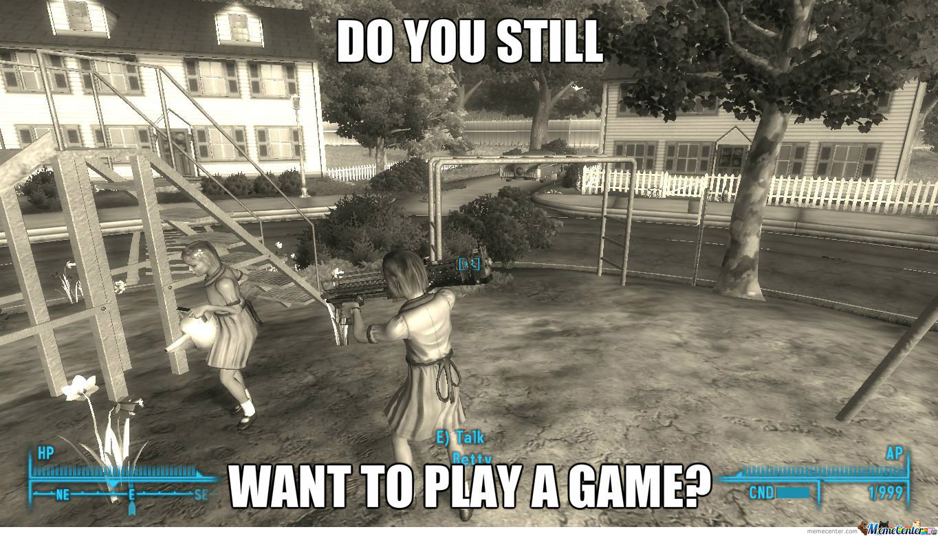 Fallout 3 funny memes was