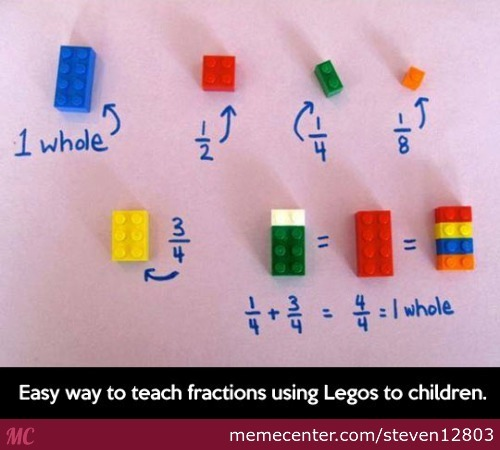 Only If They Taught More Math With Legos
