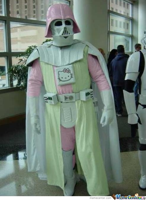 Only In Japan Do You See A Hello Kitty Darth Vader.....