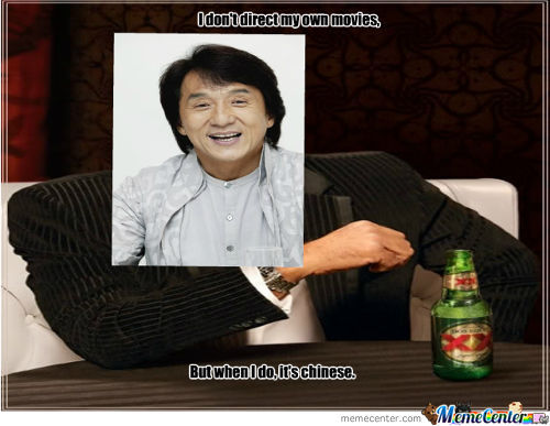 Only Jackie Chan