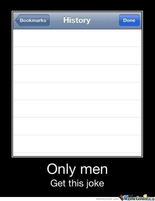 Only Men Will Get This.