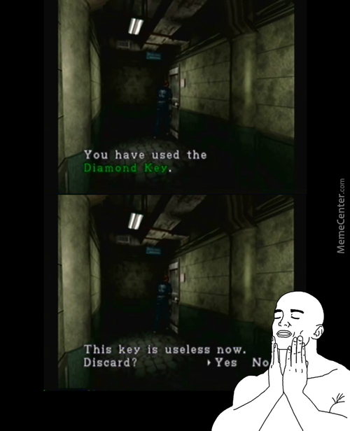 "Only Old School ""resident Evil"" Players Know This Wonderful Feeling"