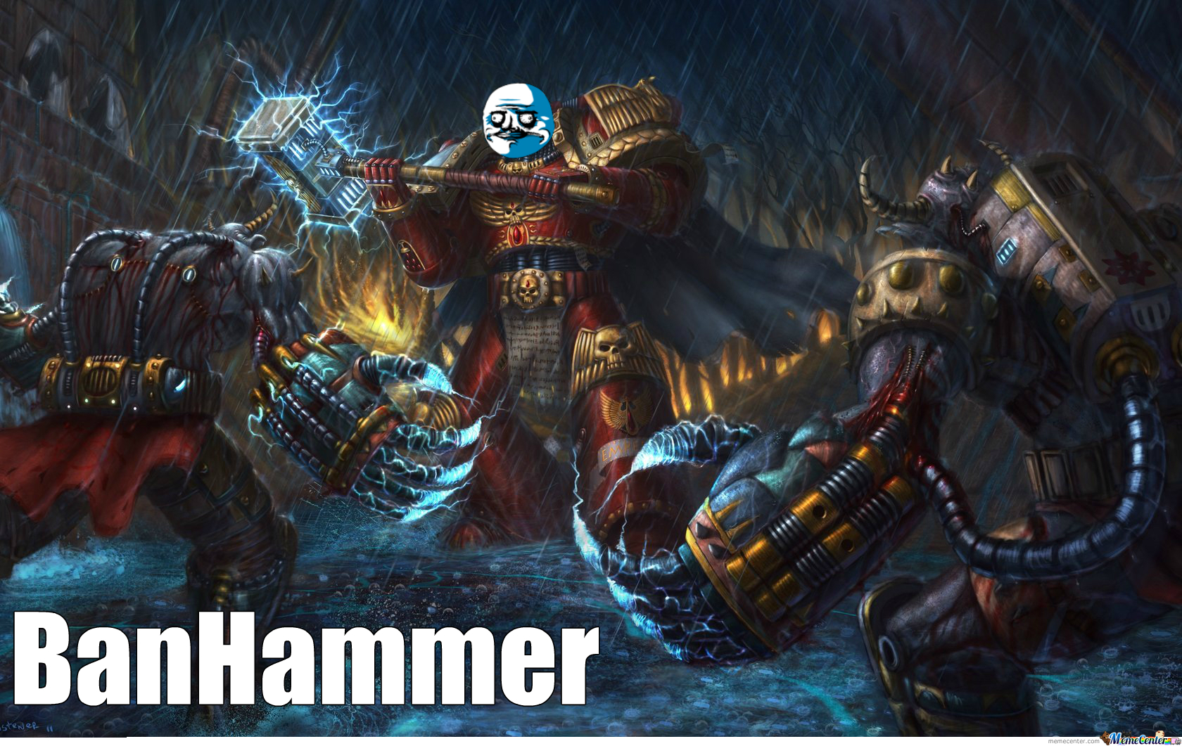 only one can have the ban hammer_o_2328109 only one can have the ban hammer by recyclebin meme center