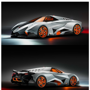 Only One For The Whole World Lamborghini Egoista By Kavindu Meme