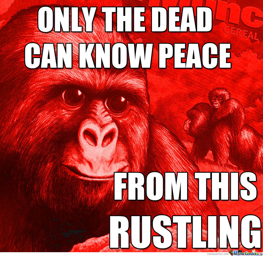 Only The Dead Know The Peace