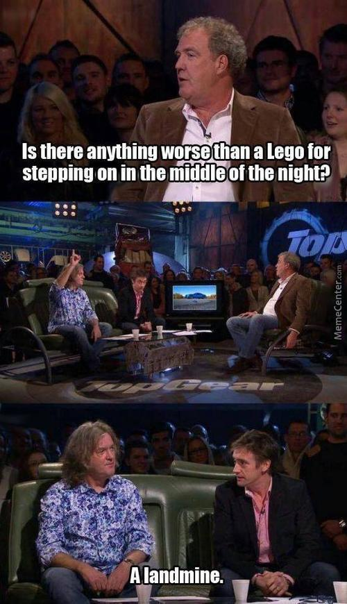 Only Thing Worse Than Lego