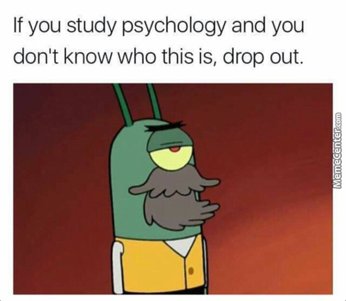 Only Year 4 Psyche Majors Will Get This Meymey