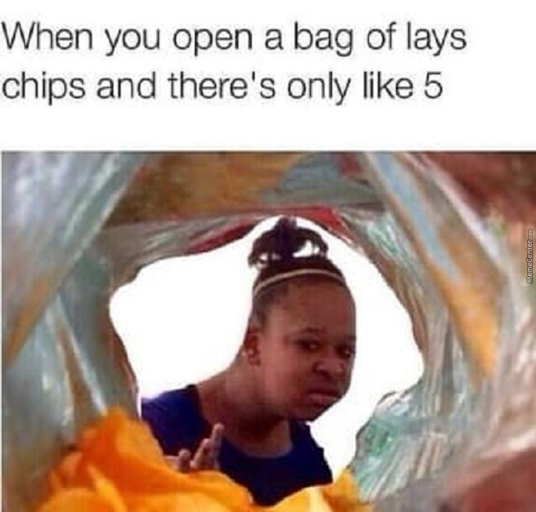 Open A Bag Of Lays Chips